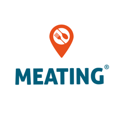 Meating logo
